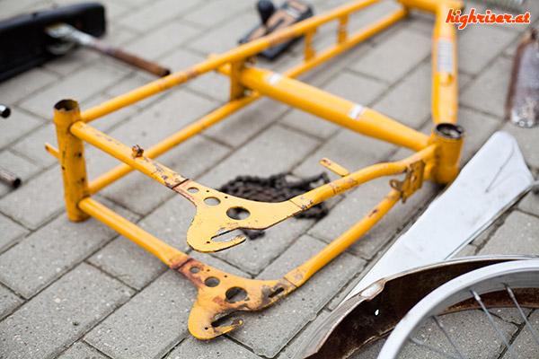 Junior Stratostreak3 - Lack am Rahmen