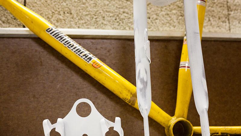 Junior Stratostreak 3 – Gabel lackieren