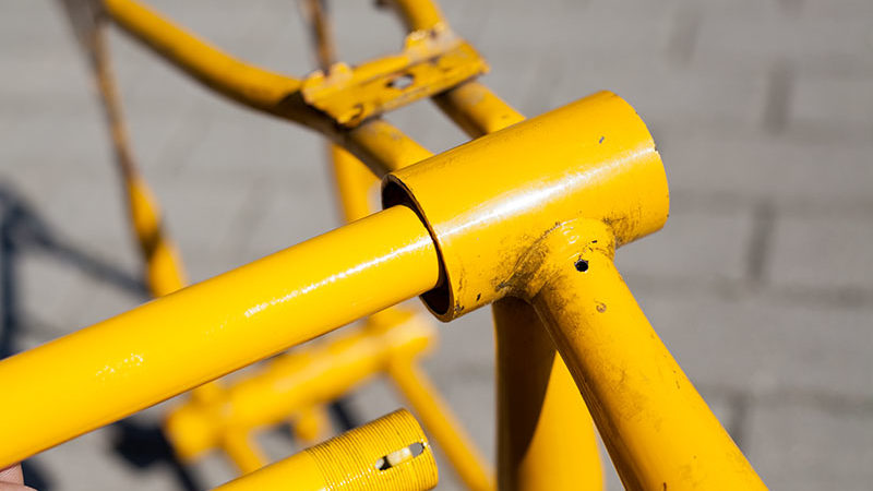 Junior Stratostreak 3 – Rahmen grundieren