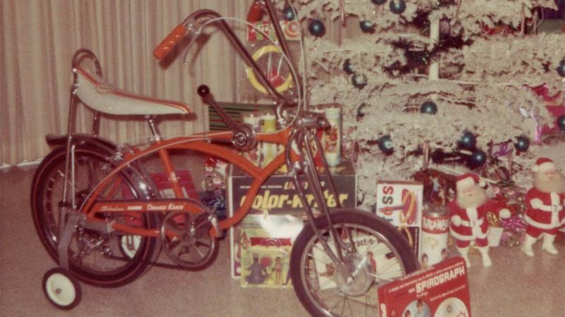 Muscle Bike unter dem Weihnachtsbaum