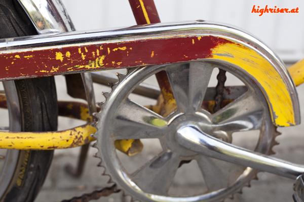 Schwinn Sting-Ray Lemon Peeler 5-Speed Stik Shift