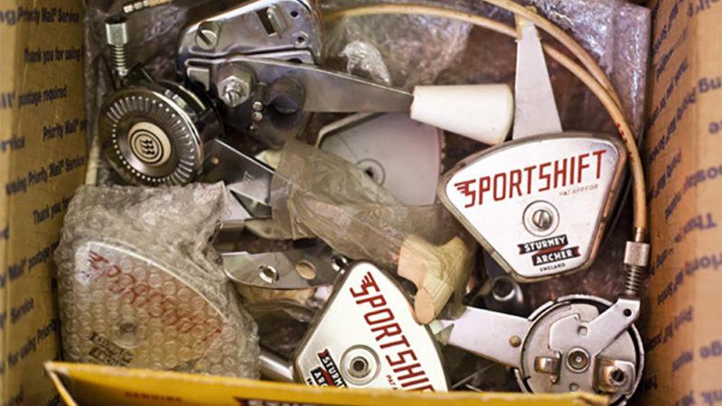 Schalthebel-Lieferung aus Amerika fürs Playbike