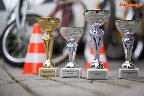 1. Österreichische Highriserspiele - Pokale