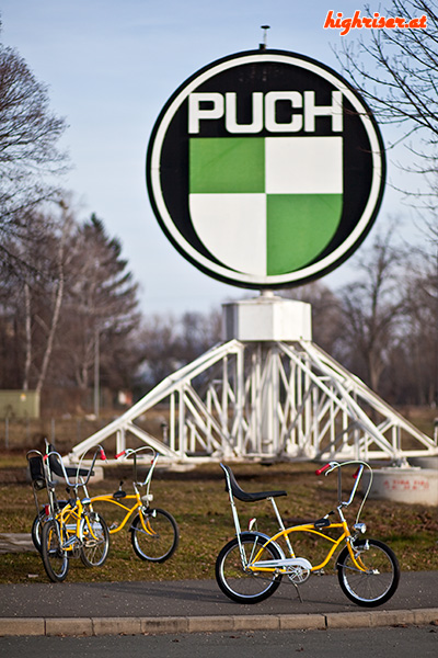 Puch 3-Gang Highriser Drillinge