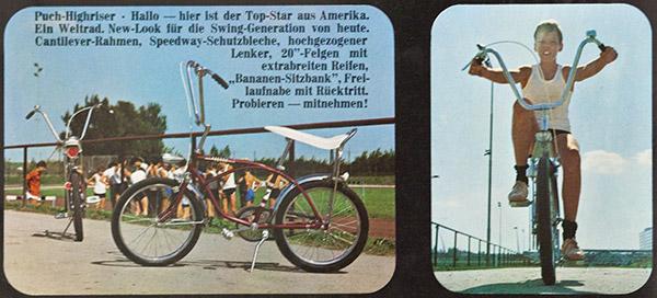 Puch Highriser - Prospekt 12/1969