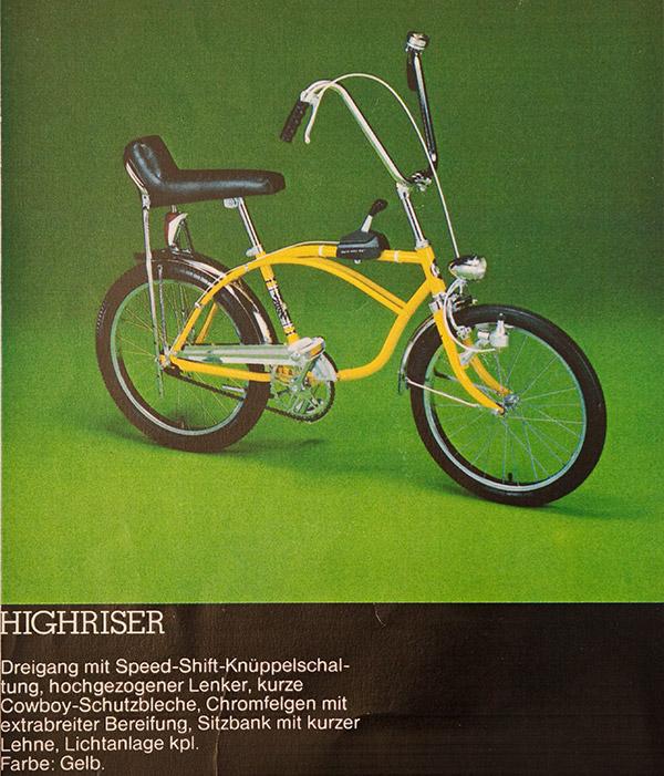 Puch 3-Gang Highriser - Prospekt
