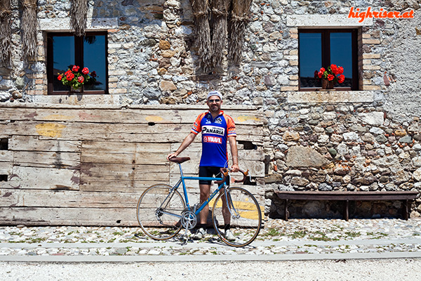 Faini Rennrad bei der Ciclostorica
